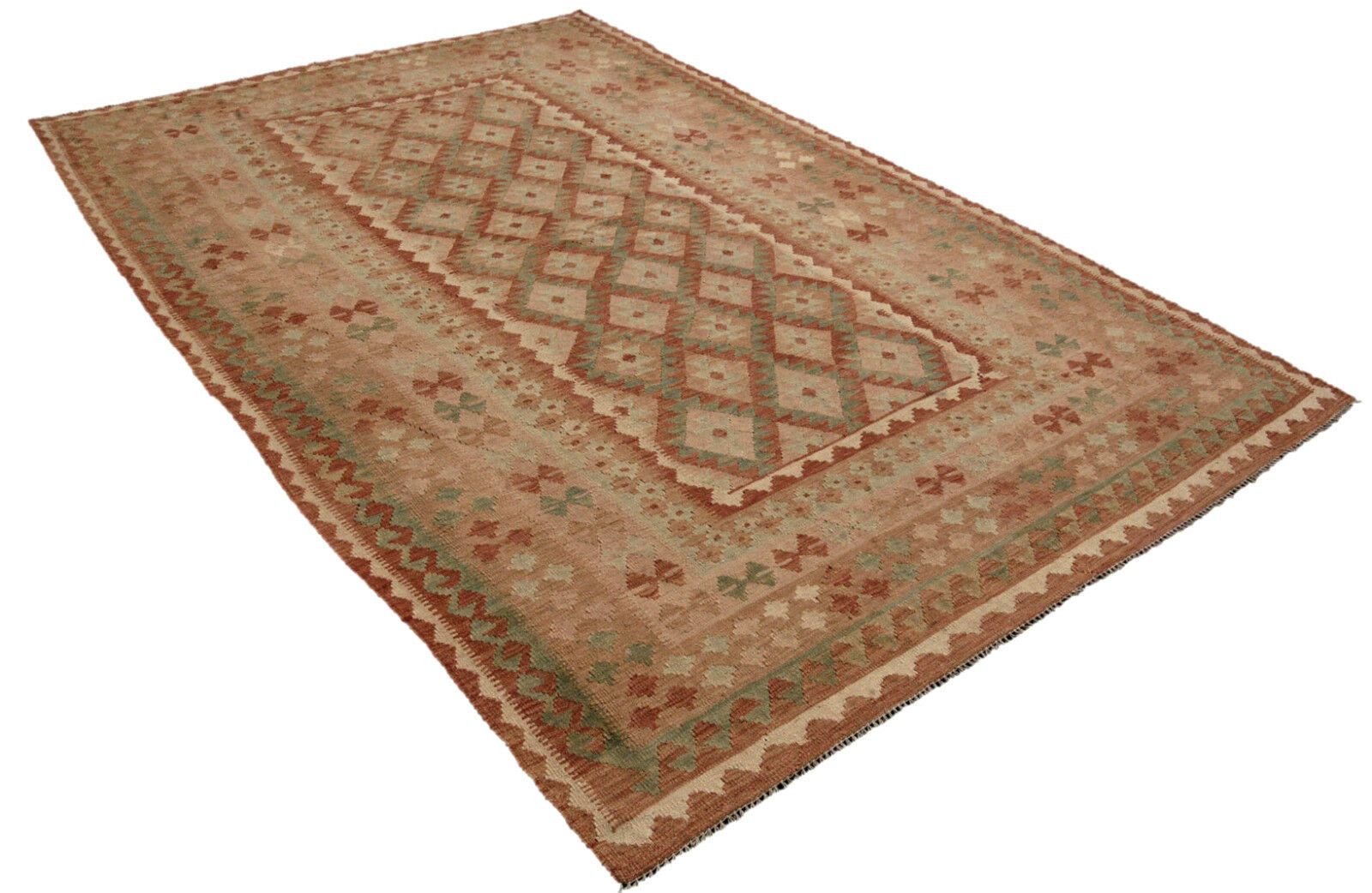 Kilim Kilim Afghan maimana 300 x 200 Orient alfombra plana tejidos handweb landhaus
