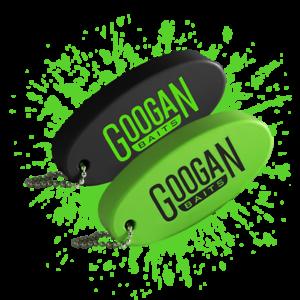 Googan Appâts mousse flottant Noir//Vert Keychain 2PK gbflwht