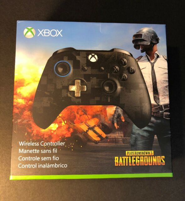 Official Microsoft XBOX ONE Wireless Controller [ PUBG Limited Edition ] NEW