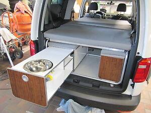 vw caddy kurzer und langer radstand ausbauset reimo active. Black Bedroom Furniture Sets. Home Design Ideas