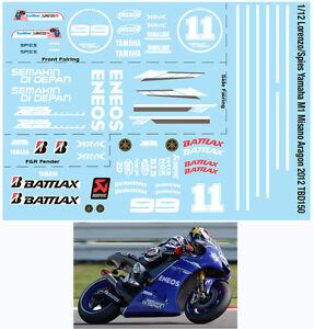 1//12 HONDA RC212V CASEY STONER DOVI PEDROSA ARAGON 2011 DECALS TB DECAL TBD151