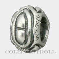 Authentic TrollBeads Silver Angles, Triangles Trollbead  11136