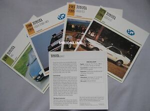 Toyota-Collectors-Classic-Car-Cards