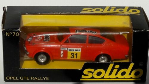 Opel Kadett Gte Rallye 143 Ovp Mb