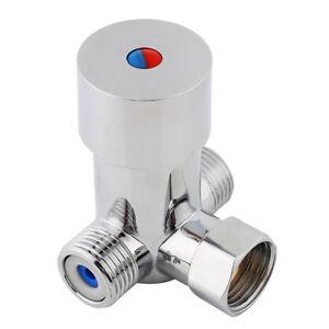 Thermostatisches-heisses-Kaltwasser-Wassermischventil-G1-2-fuer-automatische-Hahn