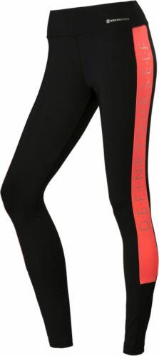 energetics Damen Sport Fitness Gymnastik Tight Leggings Kristina 3 schwarz rot