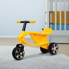 Paseo en bicicleta de balance de Juguete primera bicicleta de los niños del niño bebé 3 Rueda Walker Funcionando