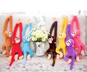 Fad Long Arm Hanging Monkey Plush Baby Toys Stuffed Animals Soft Doll Kids TOYS