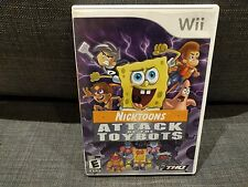 NICKTOONS: ATTACK OF THE TOYBOTS game for Nintendo Wii System **FREE SHIPPING**