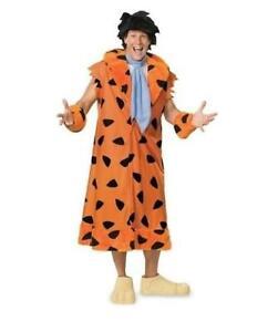 T2 Rubies Mens Flintsones Fred Flintstone Costume Med 44 888436 FAST SHIP