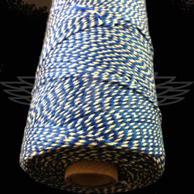 BEAUTIFUL BAKERS TWINE OXFORD BLUE 2mm 2 PLY - STRING CORD EVERLASTO