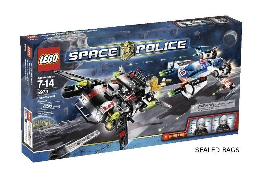Lego Space - 5973, 5971, 5970, 5969-espacio policial Lote - 4 Juegos