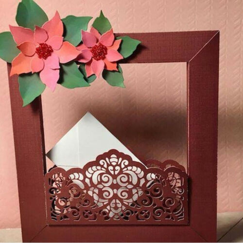 happy frame Design Metal Cutting Die For DIY Scrapbooking Album Paper Cards SP
