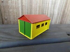 Vintage-decada-de-1960-Matchbox-Lesney-garaje-Accesorio-un-juguete-de-construccion-3-Red-Diecast-en