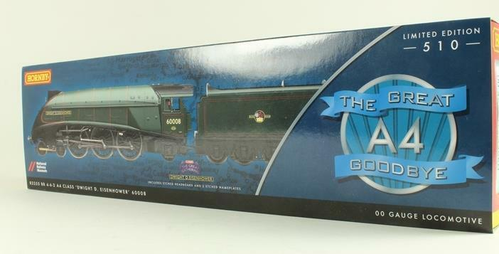 HORNBY R3255 A4 DWIGHT D EISENHOWER from LIMITED EDITION GREAT GOODBYE + CERTIF