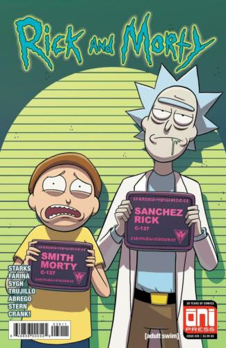 Rick and Morty #39 A Ellerby /& Stern Cover VF+//NM+
