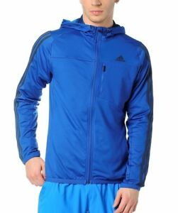 Details about Mens New Adidas Hooded Sweatshirt, Hoodie, Hoodie, Jumper, Pullover Top Blue