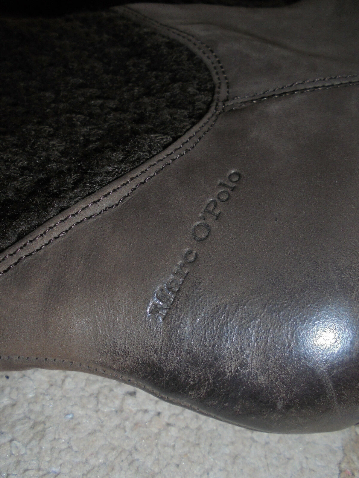 Marc o Polo MOP Damen Stiefel Boots Freizeit NP Nubuk Gr 37 38 NP Freizeit 180 Euro 2f7627