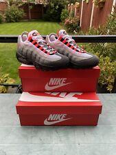 espejo de puerta Horror Dureza  Nike Air Max 95 og rojo solar granito hombre correr zapatos At2865-100 SZ 5  | Compra online en eBay