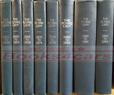 BENTLEY ROLLS ROYCE BOOK FLYING LADY MAGAZINE BOUND VOLUME 1985-1989