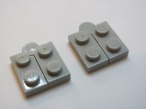 LEGO 2429c01 @@ Hinge 1 x 4 Complete Assembly (x2) Light Grey 4735 6075 6348 698