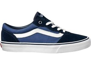 723fd28fa19 Image is loading VANS-MILTON-BOYS-NAVY-STV-JUNIOR-SNEAKERS-TRAINERS-