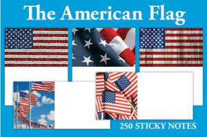 Charitable Usa Drapeau Flag Amérique Détention Note étiquettes Auto-adhésif, 250 Unités-afficher Le Titre D'origine Avoir Une Longue Position Historique