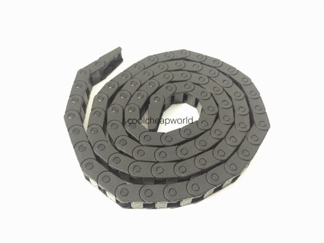 """1pcs Cable Drag Chain Wire Carrier 7*7mm 7mm x 7mm R18 1000mm 40"""" for CNC"""