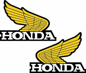 Image Is Loading Honda Wings Set Of 2 Left Amp Right