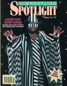 MACHO-MAN-RANDY-SAVAGE-WWF-WRESTLING-SPOTLIGHT-MAGAZINE-VOLUME-13-1991-WWE