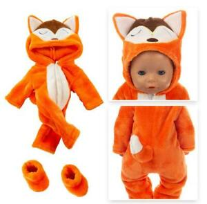 Baby Doll 17inch Born Doll Clothes New Jumpsuits Fit For 43cm