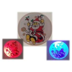 Whizzkit clignotant DEL Santa badge