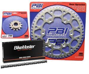 PBI 13-45 Chain//Sprocket Kit for Kawasaki KLX 250S 2009-2013