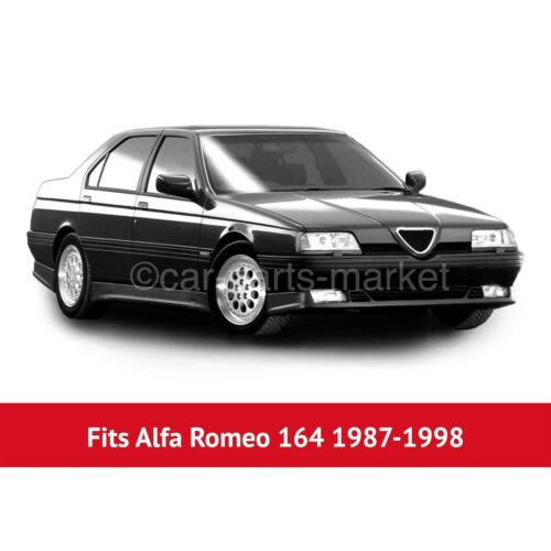 Right side Flat Wing door mirror glass for Alfa Romeo 164 88-97 heated plate
