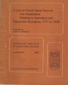 List-of-French-Naval-Records-amp-Illustrations-Relating-to-Australian-and-Tasmania