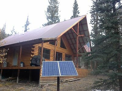 """10 - Universal solar panel pole mount kit for up to 54"""" wide, 2 way adjustable."""
