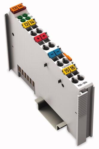 750-504 WAGO 4 canali uscita digitale morsetto NUOVO /& OVP