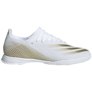 Chaussures de football Adidas X GHOSTED.3 In EG8204 or blanc or