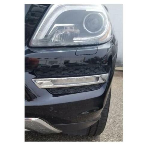 1 SET Front Left side Bumper Lateral/&Chrome Grill/& light for Mercedes Benz GL350