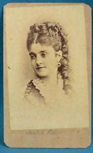 Image Is Loading 1870s CDV Photo Carte De Visite Adelina Patti