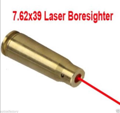 Láser Rojo De Caza Bore Sighter 7.62x39mm Cartucho de vista Boresighter 7.62x39