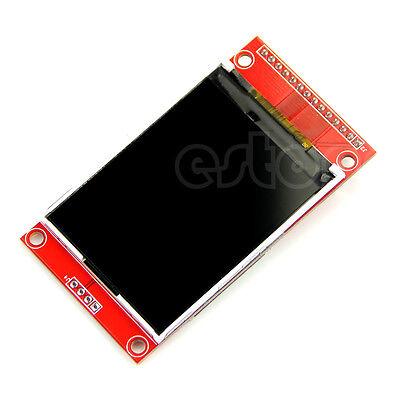 """240x320 2.4"""" SPI TFT LCD Serial Port Module+PBC Adapter Micro SD ILI9341 5V/3.3V"""