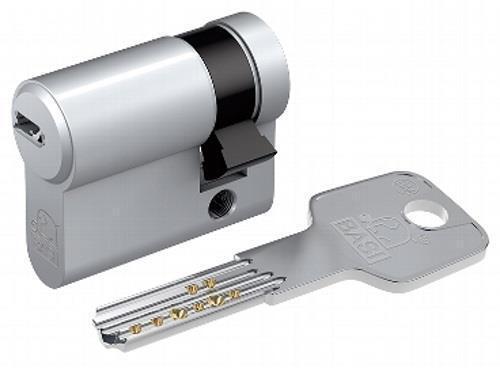 3 Bohrmuldenschlüssel GL41 Basi BM Profil-Halbzylinder 10//55mm gleichschließend