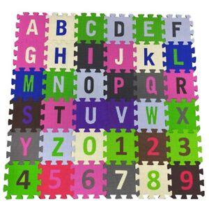 ABC-123-Baby-Kids-Mat-Exercise-Yoga-Playmat-Soft-Foam-Alphabet-Floor-Mats-36Pc