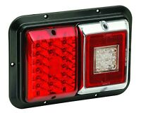 Bargman Led 47-84-613 - 84/85 Series Tail Light Red/ W Backup, Surface Mount