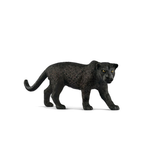 """Fähnchen-NEW with tag!! 14774-/""""Schwarzer Panther/""""-/""""Black panther/""""-Schleich-NEU"""