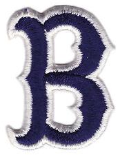 "1975-78 BOSTON RED SOX MLB BASEBALL 2"" BLUE B HAT PATCH"