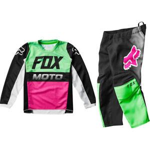 M//30-MUL Fox Racing 180 Fyce Jersey//Pants Set