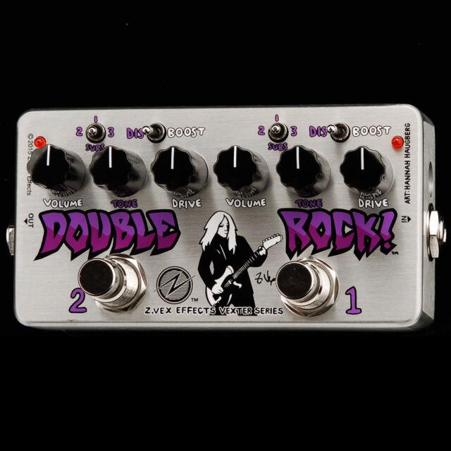 NEW Z Vex VEXTER Double Rock ZVEX newest pedals in STOCK @ REAL ZVEX DEALER