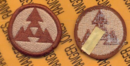 US Army 3rd Logistical Sustainment Command Desert DCU uniform patch m//e